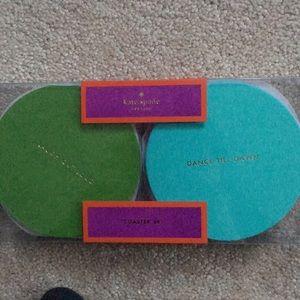 Kate spade Coaster set. Brand new never opened
